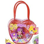 Pinypon doll and pet with red bag