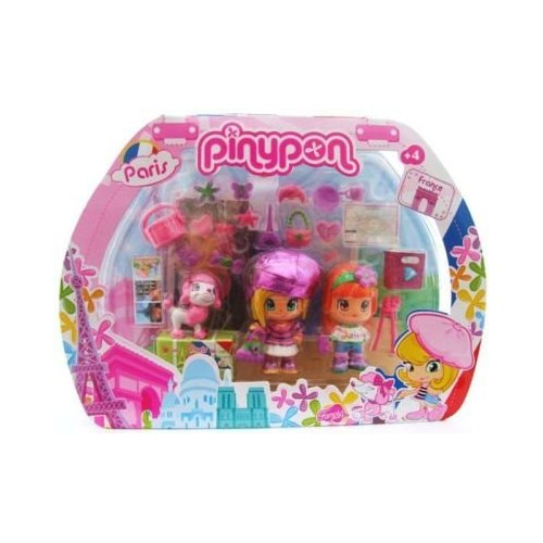 Pinypon travel gift set to Paris
