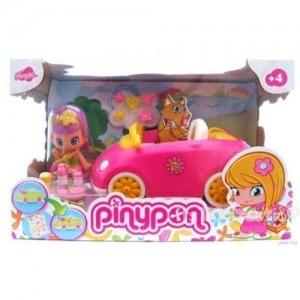 Pinypon car pink